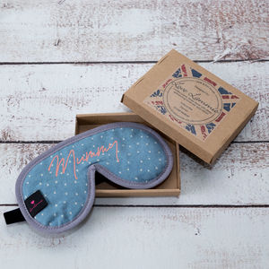 Personalised Eye Mask Mummy Print