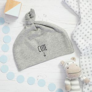 Cute Baby Knot Hat - gifts for babies