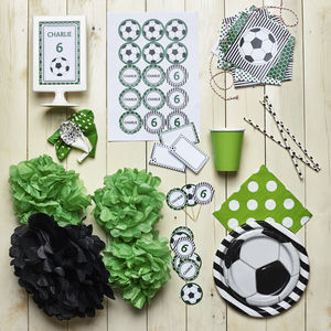 Football Personalised Kid's Partywear Pack