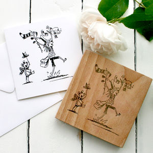 Illustrators Clear Rubber Stamp - whats new