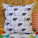 Monochrome Nursery Baby Cushion
