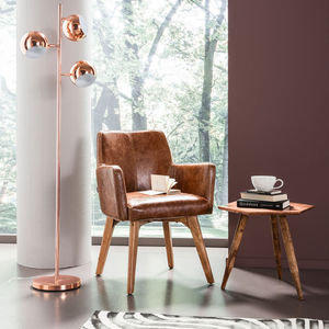 Retro Copper Floor Lamp - new in home
