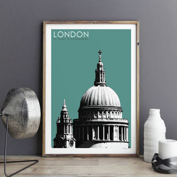 London Prints St Paul's Cathedral