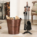 Westminster Log Bucket And Companion Set