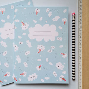 Illustrated Cloud Notebook
