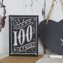 100th Birthday 100th Card