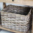 Handwoven Rattan Storage Basket