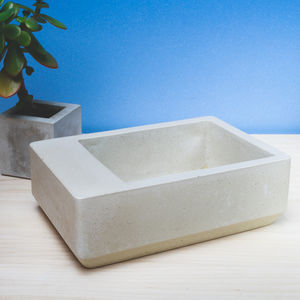 Mulberry 'B' Concrete Bowl - tableware