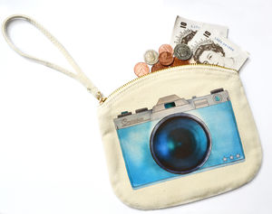 Camera Canvas Purse - purses & wallets
