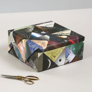 Constellation Space Luxury Gift Wrapping Paper - ribbon & wrap