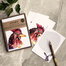 Inky Chicken Postcards