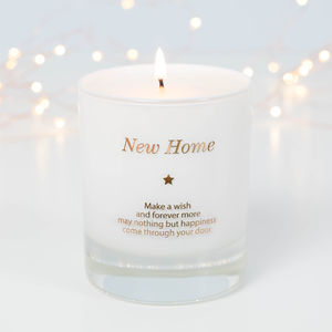 Make A Wish In Your New Home Candle - home accessories