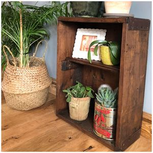 Upcycled Reclaimed Wooden Cupboard - bookcases