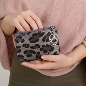 Animal Print Keyring Pouch