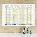 Wall Planner Calendar 2017 A2