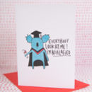 Look At Me I'm Koalified Graduation Card
