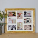 Personalised Wedding, Anniversary Multi Picture Frame