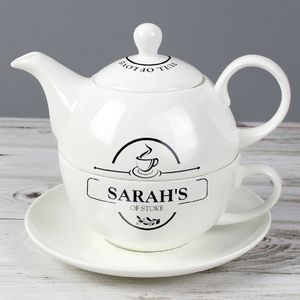 'Full Of Love' Personalised Teapot For One