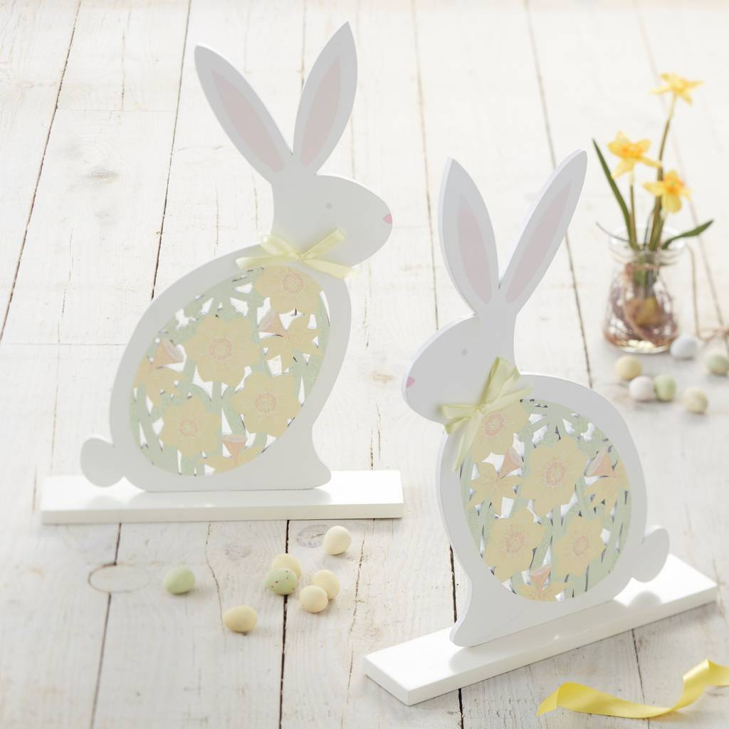 Bunny easter decoration by the chicken and the egg Images for easter decorations