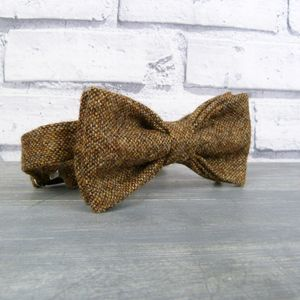 Yorkshire Birdseye Tweed Bow Tie - gifts for colleagues