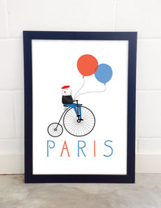 Paris, Children's Art Print