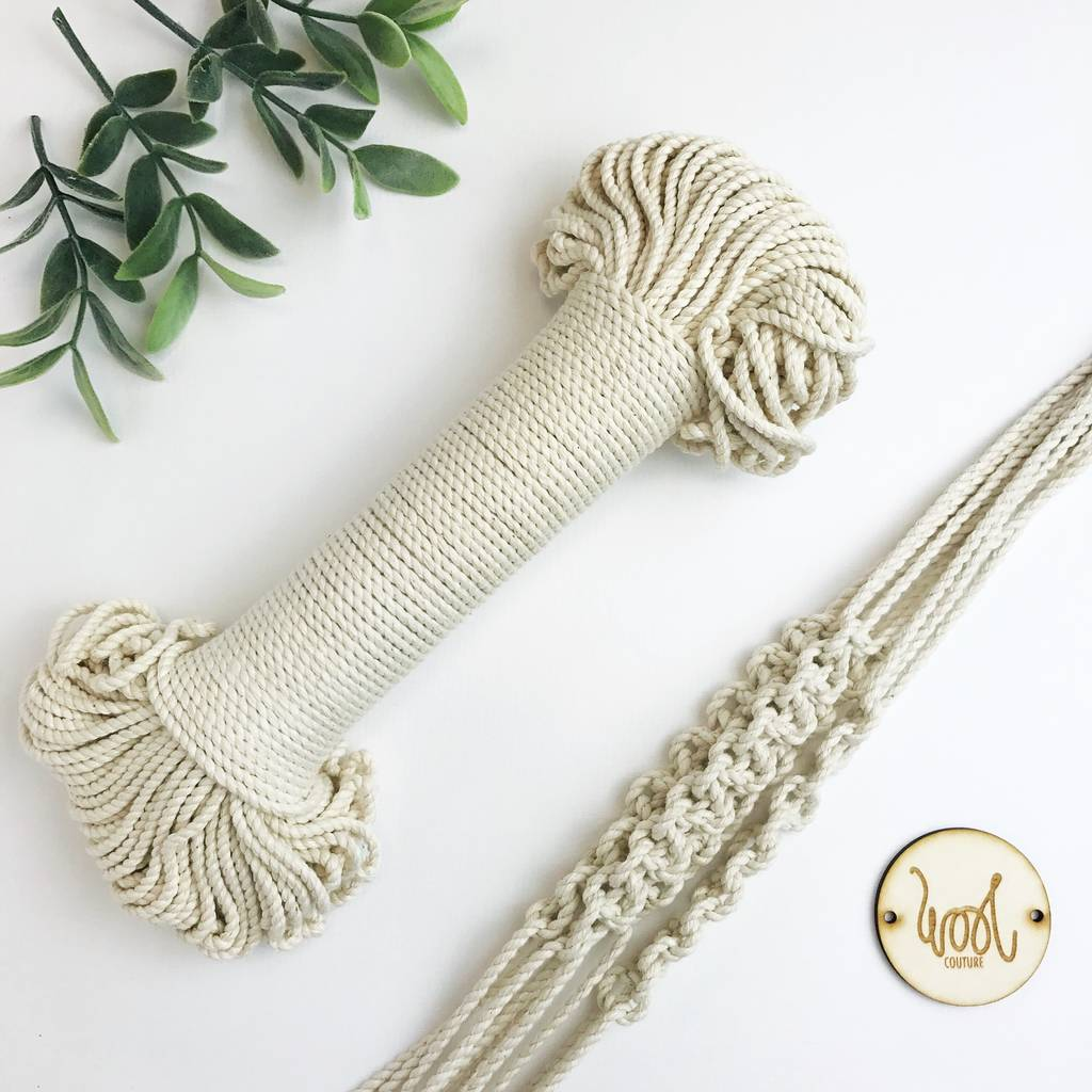 3mm Cotton Macrame Rope