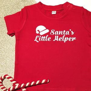 Santa's Helper T Shirt - christmas t shirts