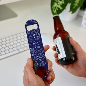 Secret Santa Bottle Opener Gift - drink & barware
