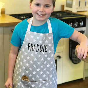 Children's Personalised Apron - baking