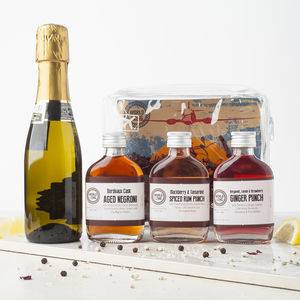 Prosecco Cocktails Travel Pack - 18th birthday gifts