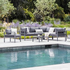 Outdoor Corner Sofa Set - garden furniture