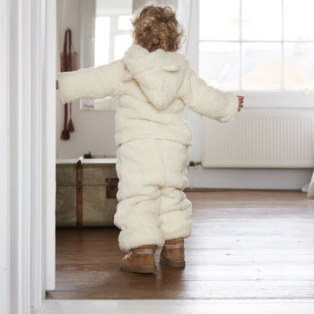 Organic Shearling Winter Bloomers