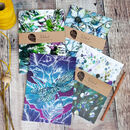 Biophilia A5 Recycled Plain Notebooks | Set Of Four