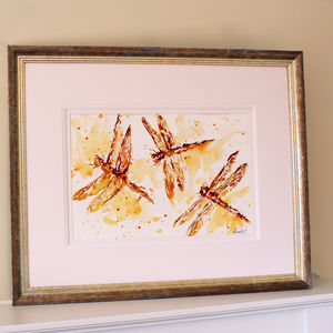 Dragonfly Painting, The Golden Girls - canvas prints & art
