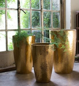 Antique Gold Vases