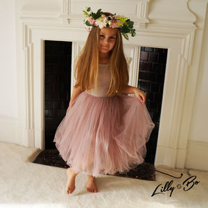 Beatrice ~ Tulle Dress