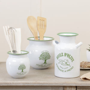 Huile D' Olive Kitchen Storage Selection - kitchen accessories