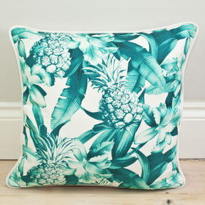 Pineapple Print Cushion - gifts for her