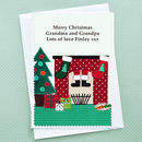 'Santa' Christmas Card From Children Or Grandchildren