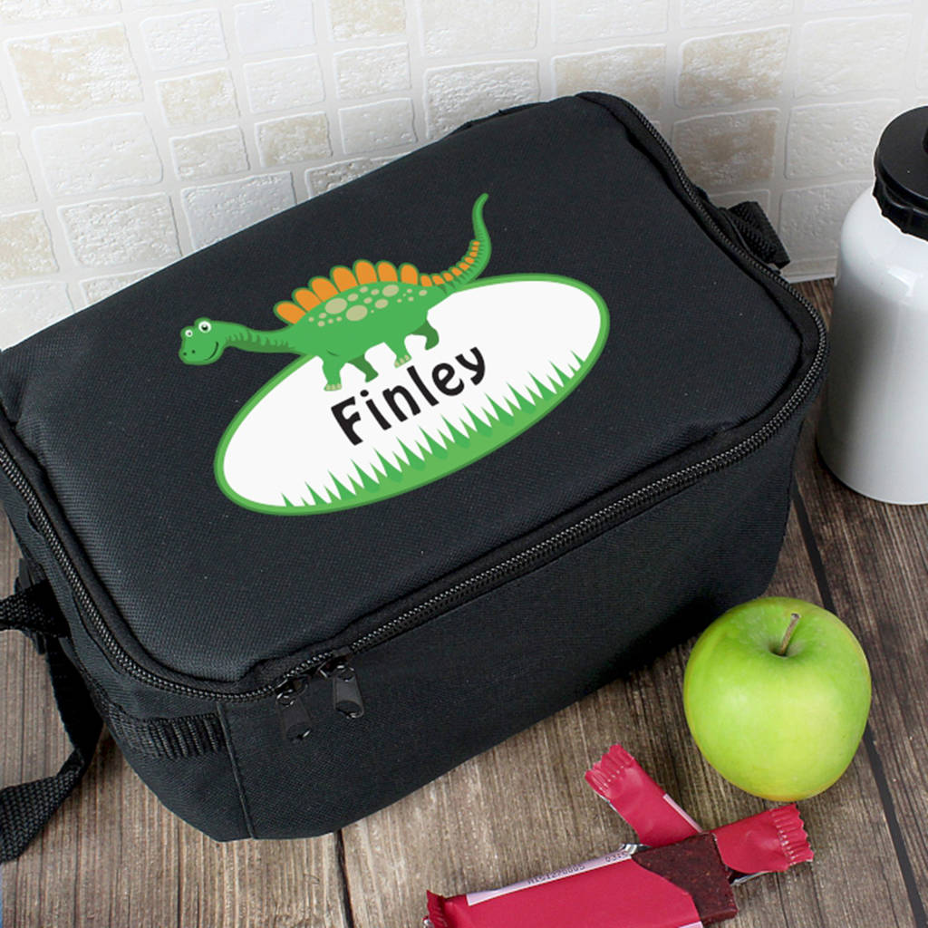 Personalised Dinosaur Kids Lunch Bag