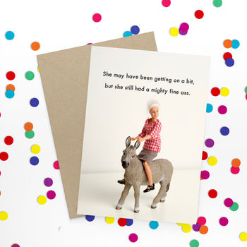 Funny Ass Birthday Card