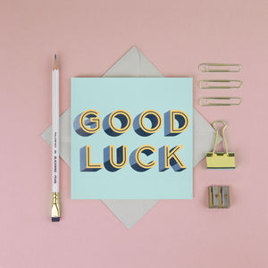Good Luck Card - shop by category