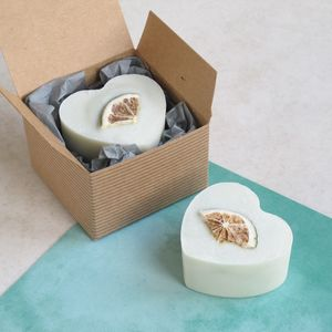 Gin And Tonic Heart Soap - soaps