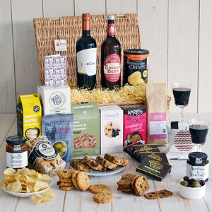 Gluten free gifts and hampers notonthehighstreet gluten free feast hamper food hampers negle