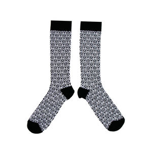 Arrow Pattern Socks - winter sale
