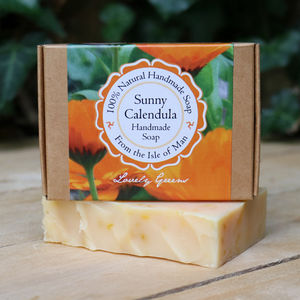 Handmade Palm Oil Free Calendula Soap