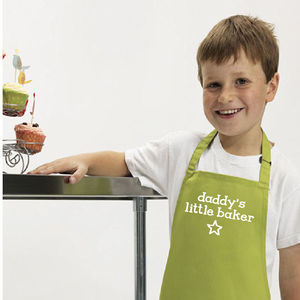 Parent Or Grandparent Kids Gift Apron - aprons