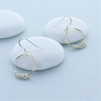 Large And Mini Hoop Earrings