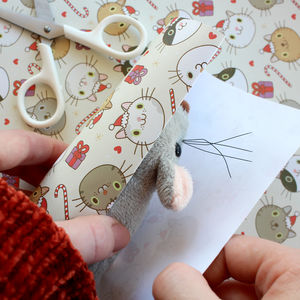 Christmas Cat Wrap - cards & wrap
