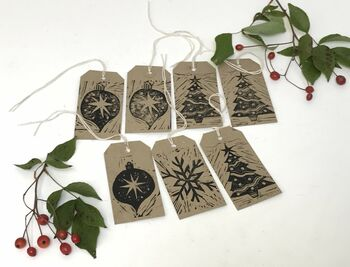 Digital Workshop And At Home Christmas Lino Cutting Kit